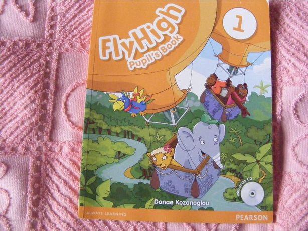 английский для детей с диском Flyhigh Pupil*s Book (книга+тетрадь)