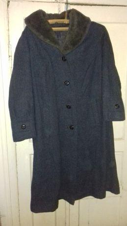 Женское шерстяное пальто СССР