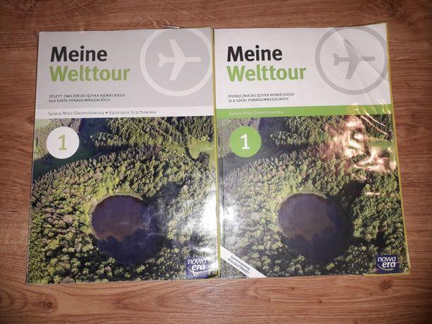 Meine Welttour 1 (Podręcznik + Ćwiczenie)