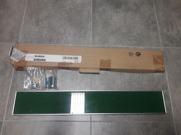 2 nowe frony ikea rubrik kolor zielony