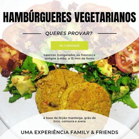 Comida Vegetariana para fora