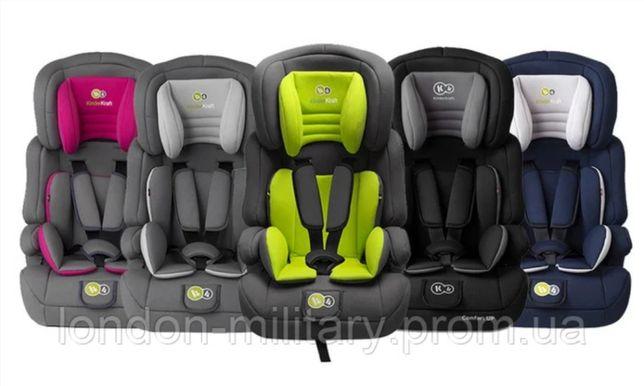 Автокресло Kinderkraft Comfort UP 9-36 кг ПОЛЬША КАЧЕСТВО