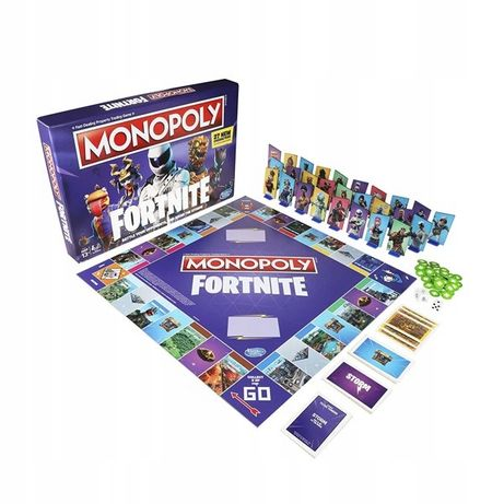 Gra monopoly Fornite wersja polska