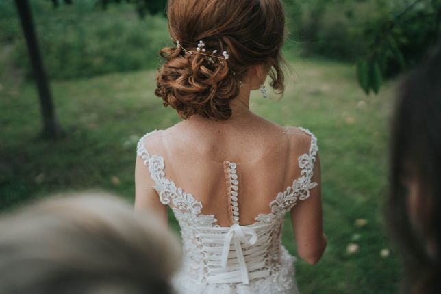 Suknia ślubna rozm. 34, welon GRATIS