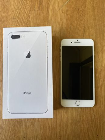 Sprzedam używany Iphone 8 Plus 64GB stan idealny (plus obudowy)