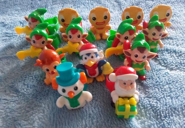 Kinder Jajko Niespodzianka ŚWIĄTECZNE figurki