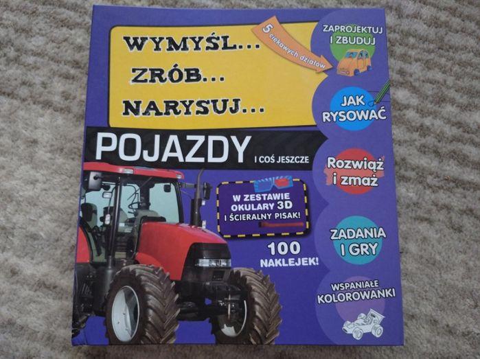 Wymyśl narysuj zrób Pojazdy/książka dla dzieci/ wyd. OLESIEJUK Gdynia - image 1