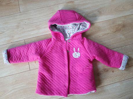 Bluza dziewczęca z kapturem- rozmiar 68 - używana,  stan idealny