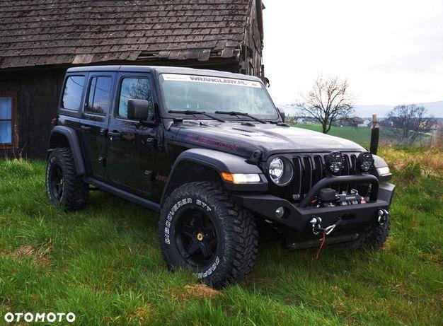 Jeep Wrangler Jeep Wrangler Rubicon 3.6 Faktura Vat Czarny Jak