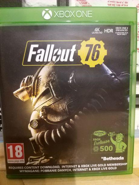 Gra oryginalna pt Fallout 76 na konsolę Xbox One