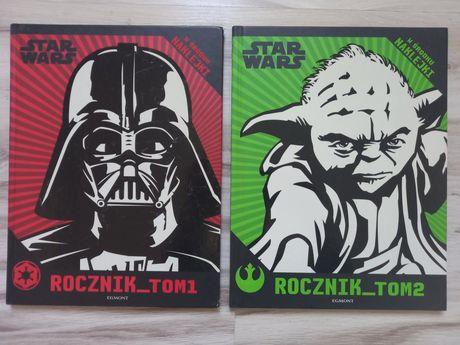 Star Wars, rocznik tom 1 i 2. Łamigłówki,  informacje dla fanów