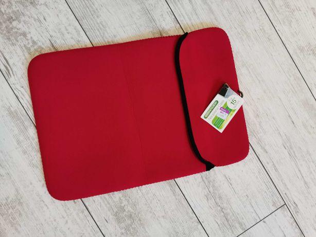"""Неопреновый красный чехол для ноутбука, планшета 15"""""""