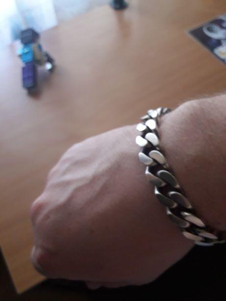 Браслет серебро 925 мужской