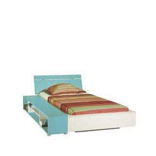 Łóżko z półka nocna
