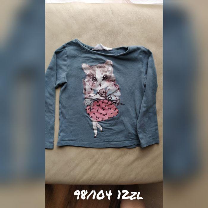 Bluzka dziewczęca 98 kotek Siedliska - image 1