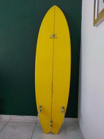 """Prancha de Surf 6""""2 em muito bom estado"""