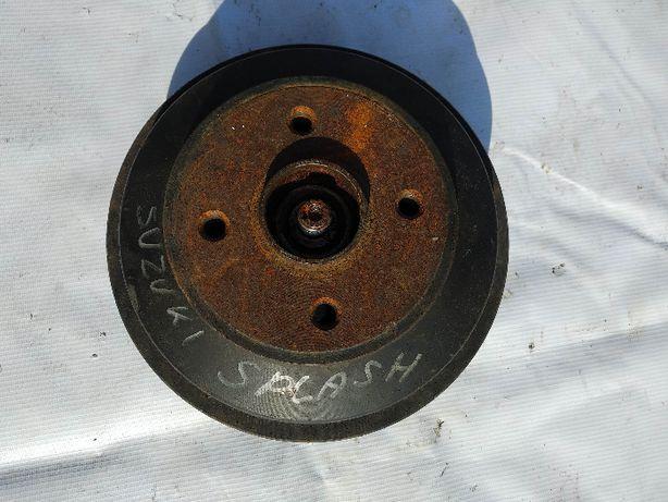 Piasta lewa prawa tył kompletna z bębnem do Suzuki Splash 1.2