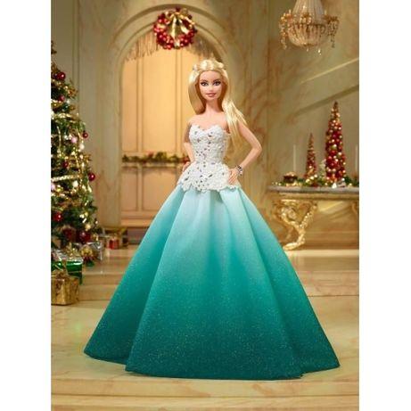 Барби Новогодняя - коллекционная кукла Barbie. Оригинал из США.