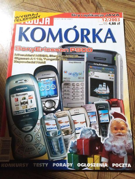 Magazyn Twoja Komórka, 12/2003, stan bardzo dobry