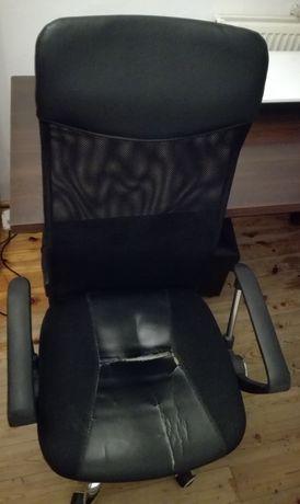 fotel obrotowy biurowy q-025 czarny do komputera