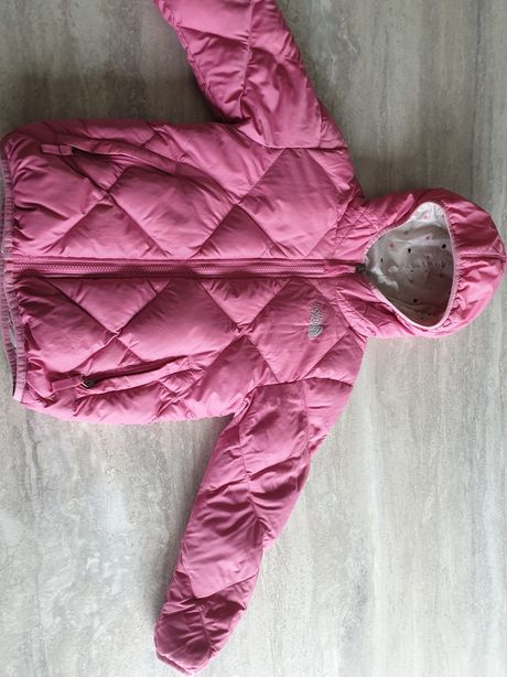 The North Face 550 kurtka dwustronna S róż dla dziewczynki ocieplana