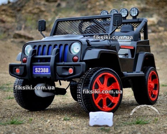 Детский электромобиль Джип M 3237 EBLR-2-3 , Дитячий електромобiль