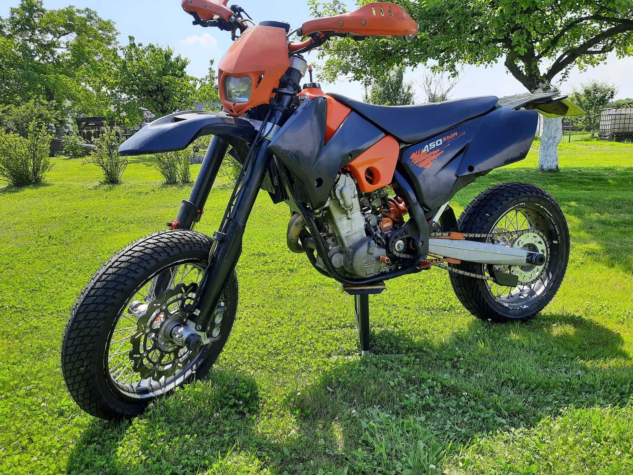 KTM SMR 450, 2007r. Supermoto