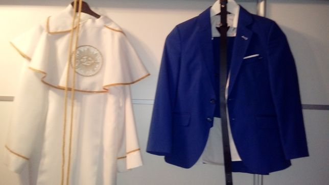 Alba z garniturem