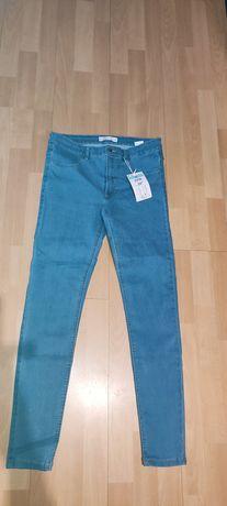 Rurki nowe spodnie Sinsay L