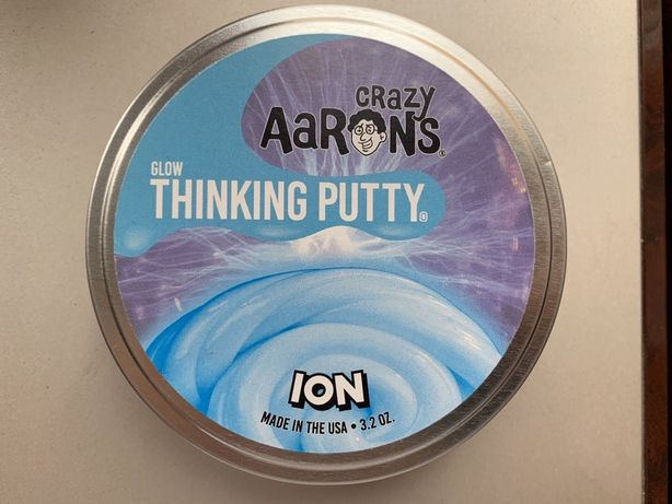 Жвачка/лизун слайм  для рук crazy Aaron's Thinking Putty ИОН