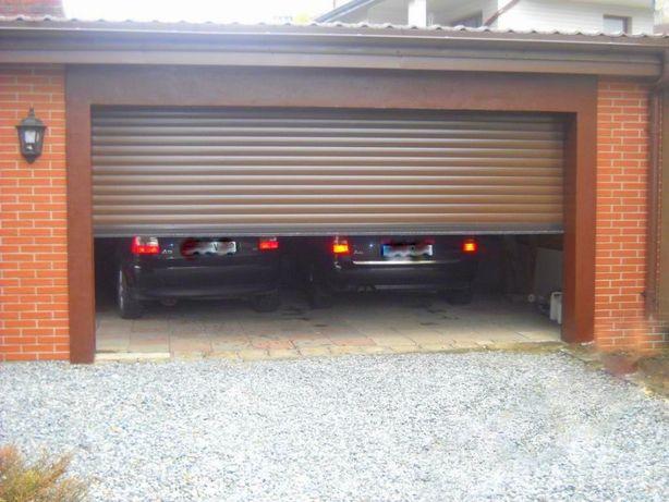 Brama rolowana 325 cm szer x 310 cm wys (340x340) z napędem-okazja!!!