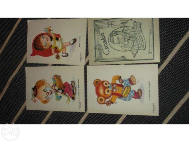 4 Cadernos anos 80 novos