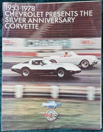 Prospekt Chevrolet Corvette Silver Anniversary
