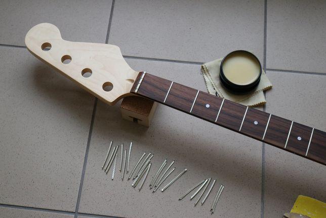 Gryf gitara basowa - Do Basu - Gryf do gitary basowej Fender