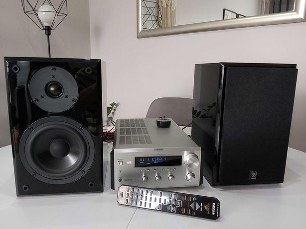 Wieża YAMAHA PianoCraft RX-E400 NX-E400 pilot + odbiornik Bluetooth