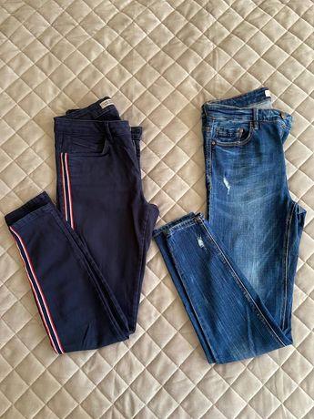 джинсы скинни skinny, слим slim Zara Stradivarius
