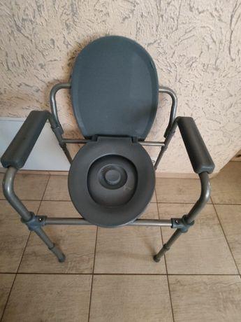 Krzesełko toaletowe sanitarne przenosne krzesełko składane