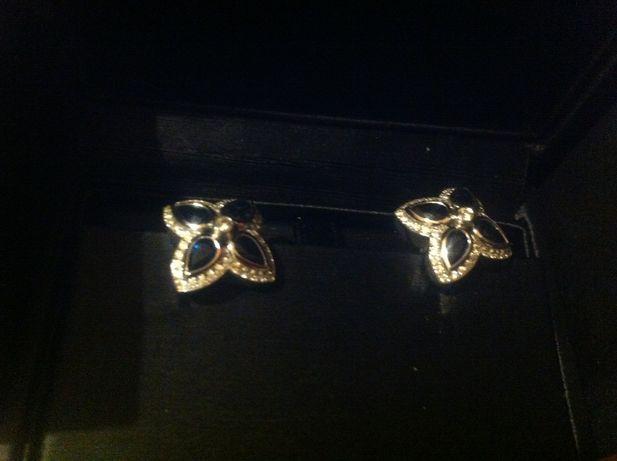 Brincos em ouro branco e safiras - Eugénio de Campos Jewellery