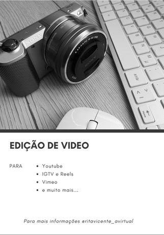 Fazemos edição em video