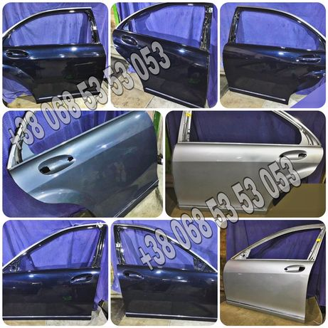 Дверь двери 221 Mercedes S W221 S-class лонг Мерседес багажник разбор