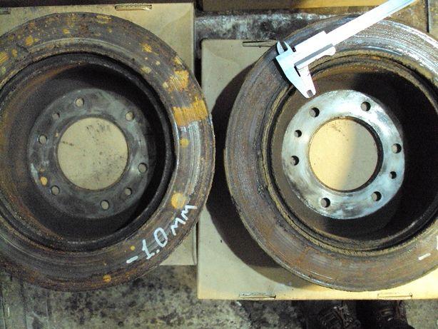 Тормозные диски Hundau H1 задние и передние (2011 г)