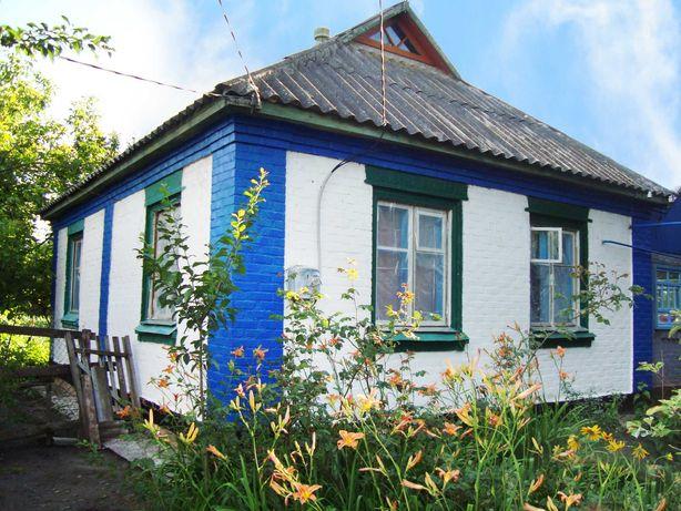 Газифікований будинок + гараж, сад, огород в с. Розбишiвка