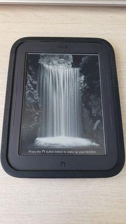 Электронная книга NOOK Simple Touch BNRV300 + (сил.чехол, MicroSD 8gb)
