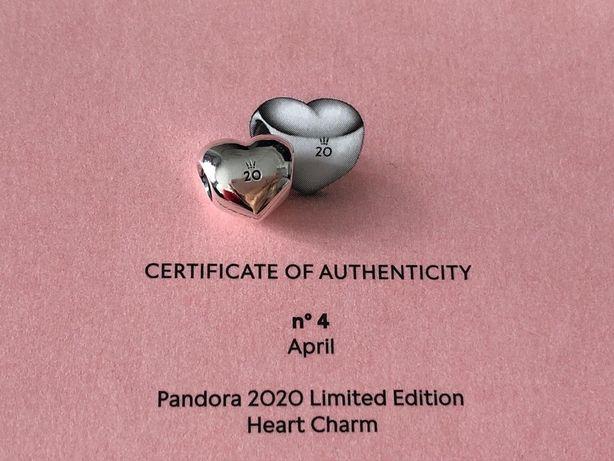 Serce limitka na 20 lecie Pandora