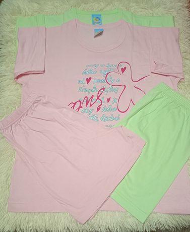 Пижама с шортами,набор с 2 пижамок Италия