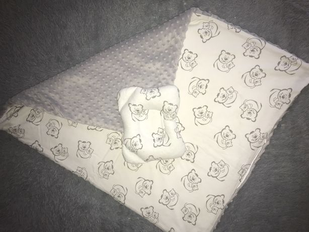 Плед з подушкою, конверт на виписку
