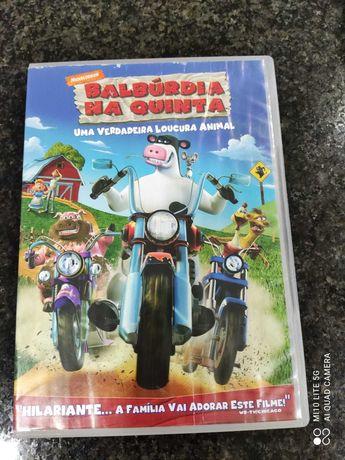 DVD - Balbúrdia na Quinta