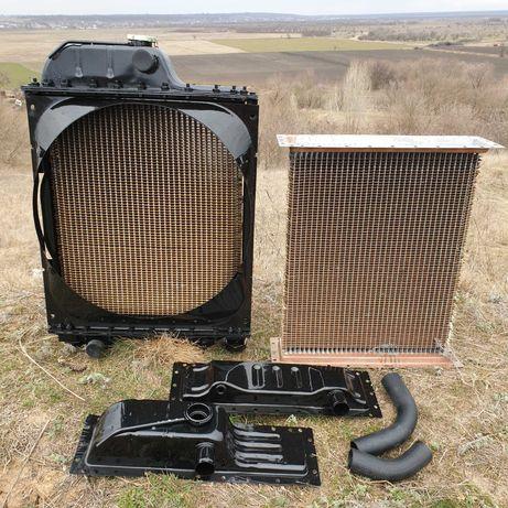 Радиатор водяного охлаждения МТЗ Д-240 ЮМЗ Д-65 сердцевина Латунь