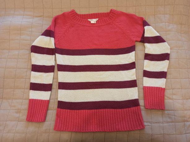 Sweter w pasy rozmiar M