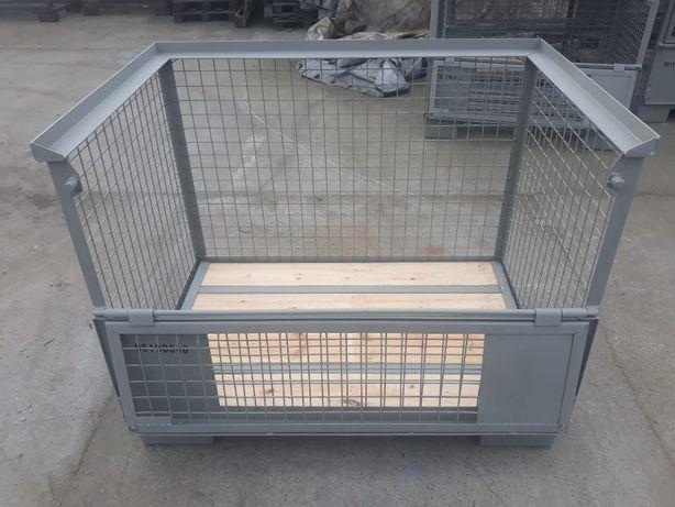 Najlepszy do transportu pojemnik metalowo-drewniany, Giterbox